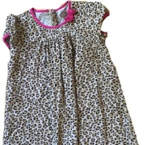 Girls tiger print dress.